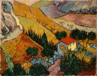 Винсент  ван Гог  Landscape with House and Ploughman
