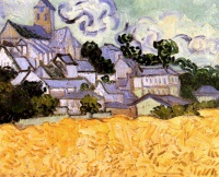 Винсент  ван Гог  View of Auvers with Church