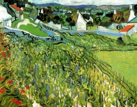 Винсент  ван Гог  Vineyards with a View of Auvers