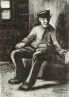 Винсент  ван Гог  Blind Man Sitting in Interior
