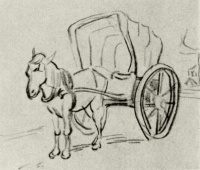 Винсент  ван Гог  Carriage
